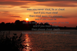 cheat, leap year, lie, love, quote, steal, text