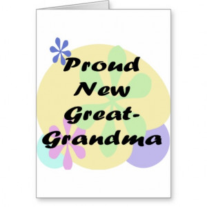 Proud New Great Grandma Shades Pink Blue Yellow Perfect For Mother