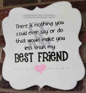 Friend Sign by SparkledWhimsy IDEAS FOR DISPLAY: * Front Door/Back ...