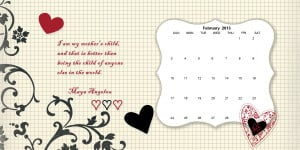 February Quotes and Sayings for Calendars
