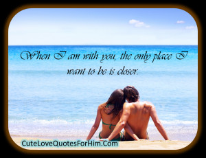 Cute Love Quotes For Him 2