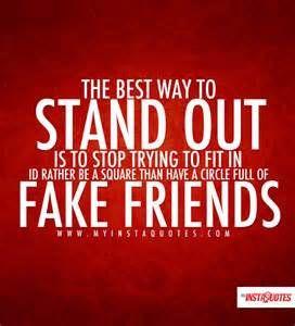 No fake here! That's why I ain't got no friends lol!!!