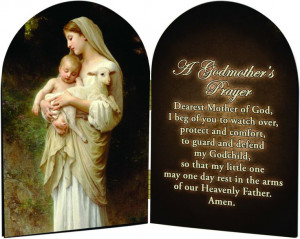 Godmother Quotes | Godmother's L'Innocence Prayer Arched Diptych ...