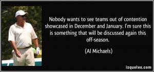 More Al Michaels Quotes