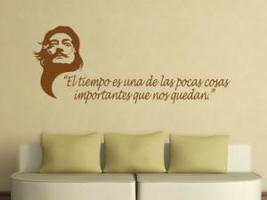 Quotes decal Salvador Dali (english)