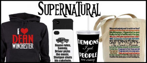 Supernatural TV Shop with awesome mugs with the funniest Dean ...