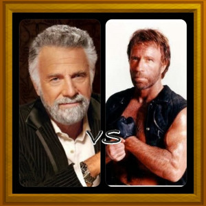 Dos Equis Man vs Chuck Norris?