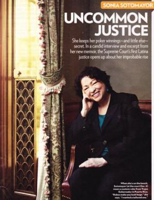 Sotomayor Wise Latina Full Quote