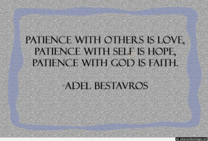 quotes about patience and time patience and time honore