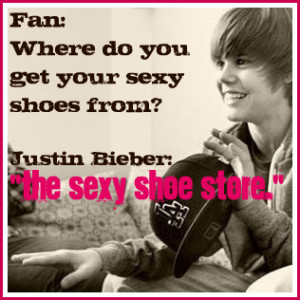 "Justin Bieber - ""Sexy Shoes"""