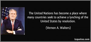 More Vernon A. Walters Quotes