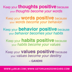 Change Your Thoughts, Change Your Destiny