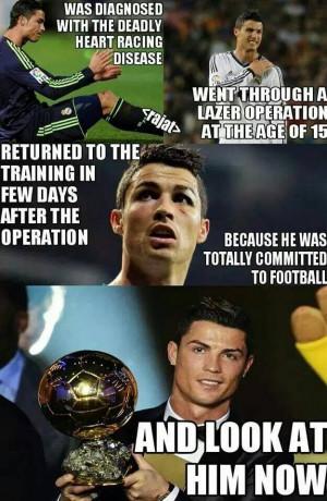 Cristiano ronaldo respect