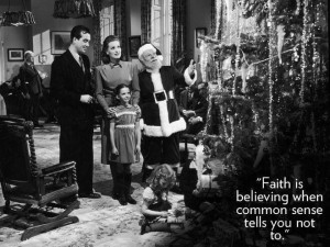 Miracle on 34th Street -Favorite Christmas movie