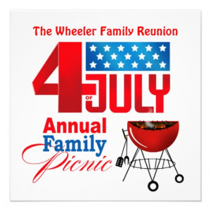 perfect fun invite for summery family reunions cookouts picnics and