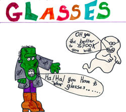 What about wearing glasses?
