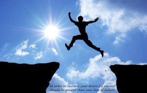 Motivational Quotes with Great Achievement success Wallpaper