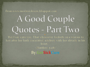 Good Couple Quotes - Images Of Biblical Fact by GetSickCure.blogspot ...