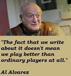 Al alvarez quotes 5