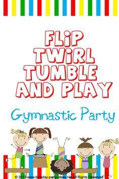 Gymnastics Birthday Party to celebrate their 12th birthday with their ...