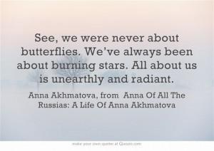 Anna Akhmatova, from Anna Of All The Russias: A Life Of Anna Akhmatova