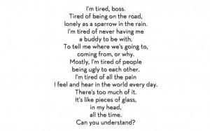 love quotes depression sad