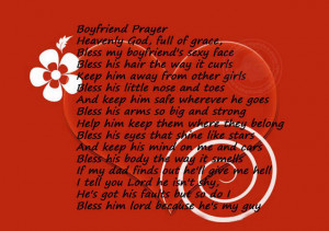 Boyfriend Prayer…
