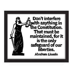 LAW~POSTER 11x14 Abraham Lincoln Quote Don't by WordsIGiveBy,etsy More