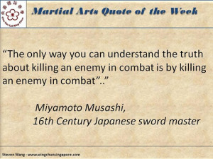 Martial Arts Quote of the Week #1 | Wingchun Singapore