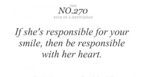 rules of a gentleman