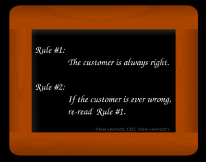 boss the customer loading customer service quotes there is only one ...