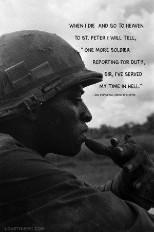 soldier quote