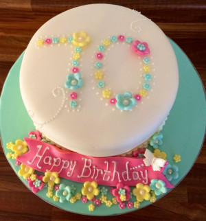 Nuala Cakes, 70Th Cakes, Nannies Cakes, 70Th Birthday Cakes, Cakes ...
