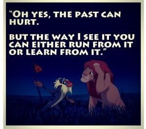 One of The lion king quotes