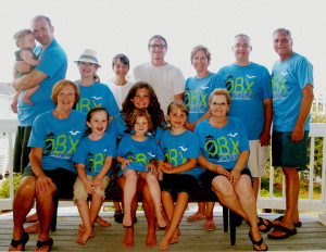 Picture of Outer Banks Family Vacation Custom T-Shirt Design