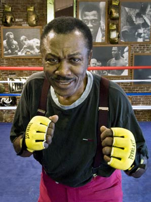 ... two years after joe come joe frazier beat muhammad ali world smokin