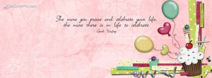 Showing Gallery For Facebook Cover Quotes About Life Pink