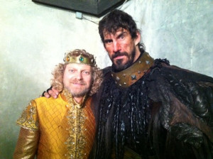 Alex Zahara as King Midas and Robert Maillet as the Behemoth