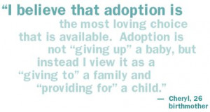 quotes+about+adoption | Child's Hope has compiled a booklet ...