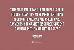 Quotes About Student Loan Debt
