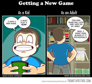 Cute Video Game Quotes Funny kid playing video games