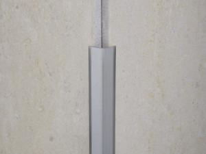 PVC edge trim for tiles outside corner NOVOESCUADRA EMAC