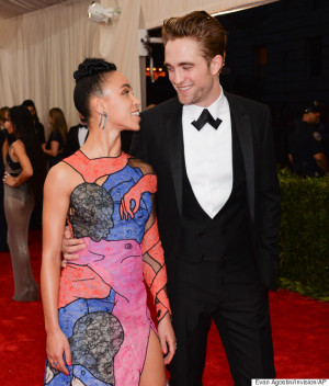 FKA Twigs and Robert Pattinson at the Met Gala