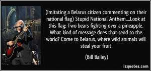 Imitating a Belarus citizen commenting on their national flag) Stupid ...