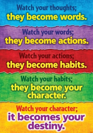 Lao Tzu Quotes: Watch your thoughts, they become your destiny!