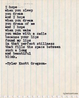 typewriter Quotes | Typewriter Series #391by Tyler Knott Gregson ...