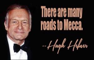 Hugh hefner quote