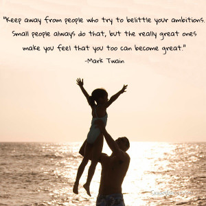 Stay away from small people…