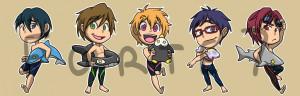 Free Iwatobi Swim Club Rei
