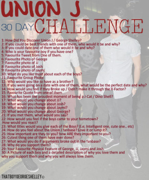 union j #union j challenge #george shelley